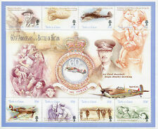 Turks & Caicos 2000 MNH WWII Battle Britain 60th 8v M/S Churchill Planes Stamps