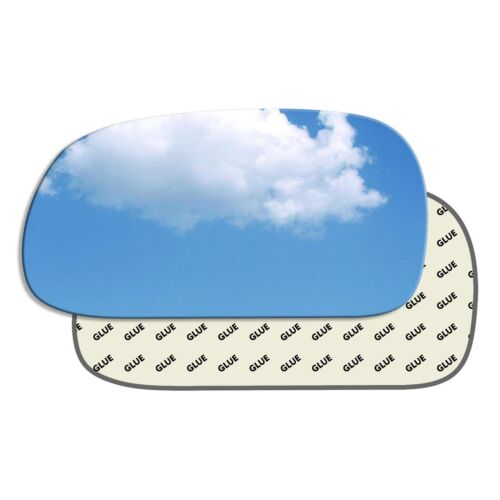 Left passenger near side convex wing mirror glass Toyota Carina 1992-1998 86LS