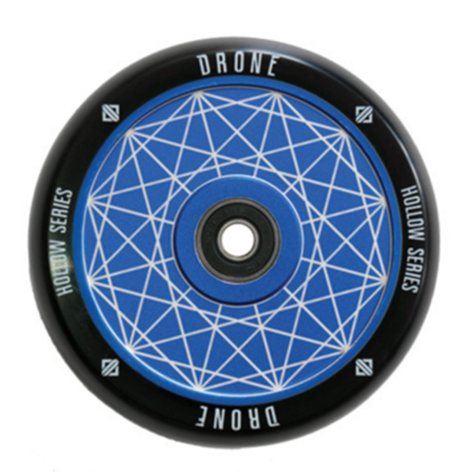 Drone Scooters Featherlight Hollow Core Scooter Wheel, Prism