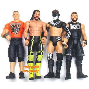 Wwe Nxt John Cena Seth Rollins Finn Balor Kevin Owens Action Figures