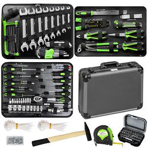 500 piezas maleta de herramientas caja martillo alicates maletin set box