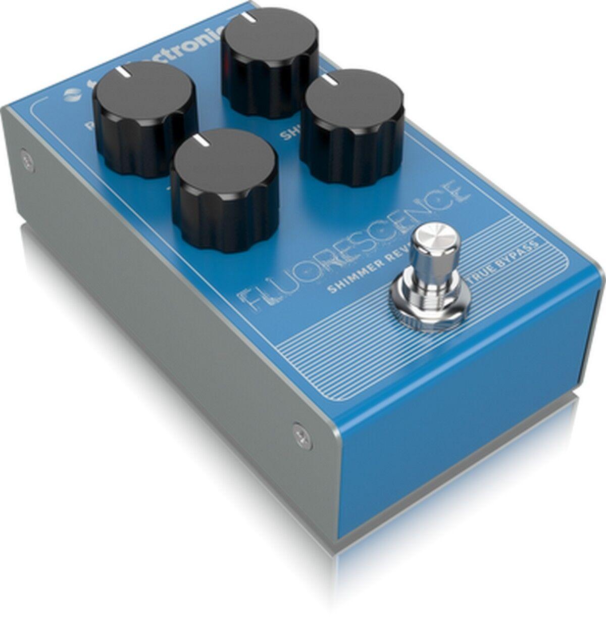 TC Electronic Fluoreszenz Shimmer Reverb Wirkung Nachhall Fußschalter X Gitarre