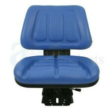 Blue Fullback Tractor Suspension Seat Fits Ford Fits New Holland 600 601 800 8