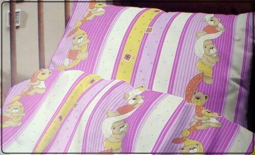 2 teilige Kinder Biber Bettwäsche 100x135 cm