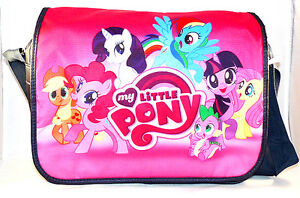 My-Little-Pony-epaule-Sac-D-039-ecole-Nouveau-Qualite-Superieure-Stock