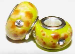 European-Charm-Bead-Yellow-Plated-Silver-Core-2x