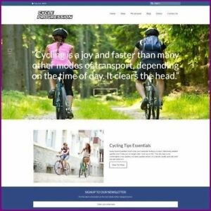 CYCLING-Website-Business-For-Sale-Domain-Hosting-Help-Start-Today-Home