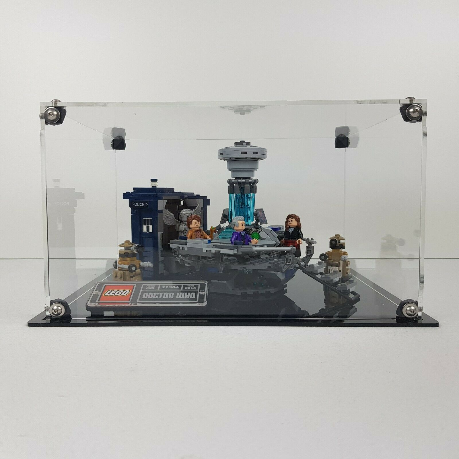 Teca Display LEGO 21304 Doctor Who