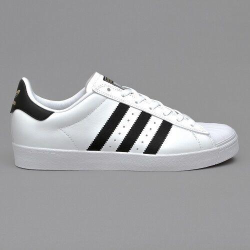 Zapatillas para hombre Adidas Originales Superstar Vulc ADV blancoo Negro Marina tamaño de Reino Unido