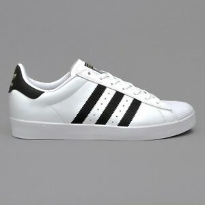2a09736ab Image is loading Adidas-Originals-Superstar-Mens-Trainers-Vulc-Adv-White-