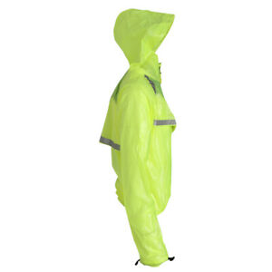 NEW Bicycle Bike Cycling Raincoat Wind Coat Waterproof Hooded Jacket Pants Set