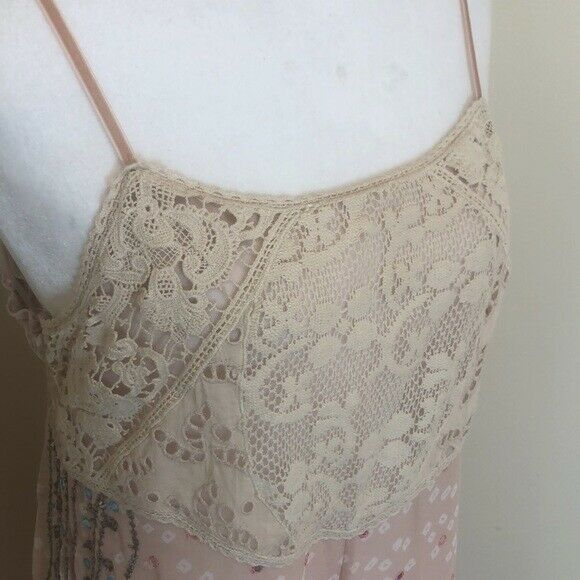 Free people whimsical wide leg jumpsuit fairycore - image 9