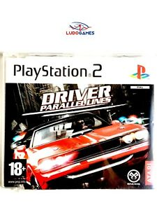 Driver-Parallel-Lines-Promo-EUR-PS2-Retro-Playstation-Videojuego-Videogame-Mint