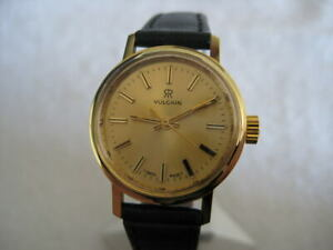 NOS-NEW-SWISS-VULCAIN-WATERPROOF-ST-STEEL-WATCH-1960-039-S