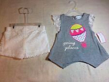 3T Emily Rose 2 piece short set Mint Secret Mermaid Girls sizes 2T