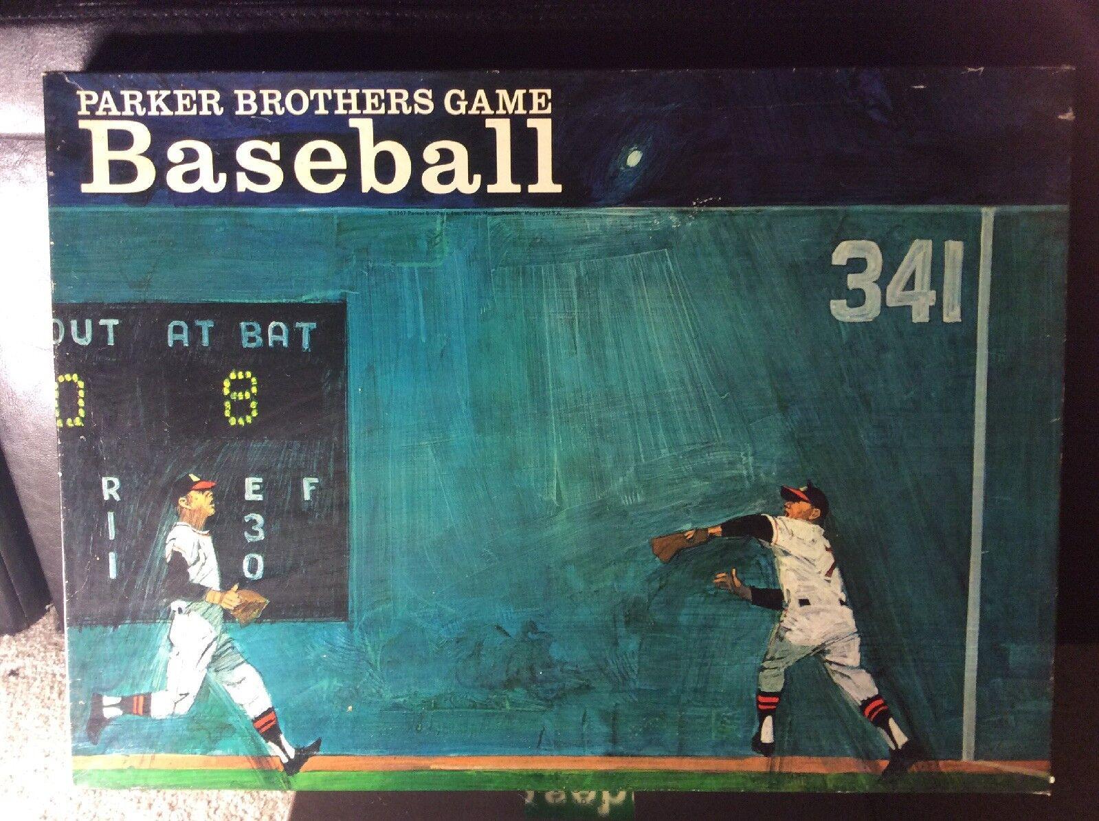 Très rare Parker Brougehers Baseball Board  Game  la meilleure sélection de