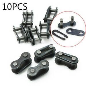 10-piezas-Bicicleta-Bicicleta-Cadena-Split-rapida-velocidad-unica-conector-conjunta-Master-Link
