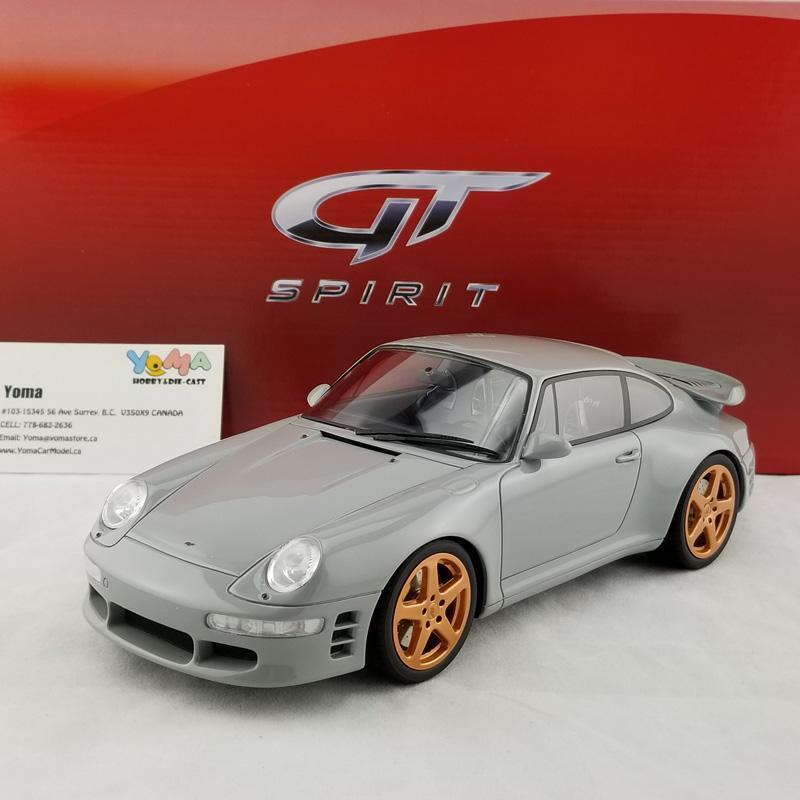 GT Spirit 1 18 Porsche 911 (993) Turbo R by Ruf in gris GT145