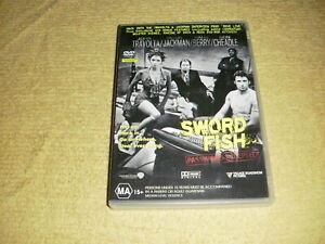 SWORD-FISH-action-2001-DVD-John-Travolta-hugh-jackman-halle-berry-swordfish-R4