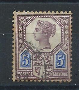 Grande-Bretagne-N-99-Obl-FU-1887-1900-Victoria-bis