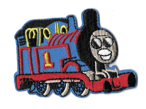 Thomas Train Locomotive Embroidered Iron On Applique Patch Vehicle