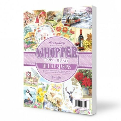 40 Luxury Foiled /& Die-Cut Topper Sheets Hunkydory Whopper Topper Pad