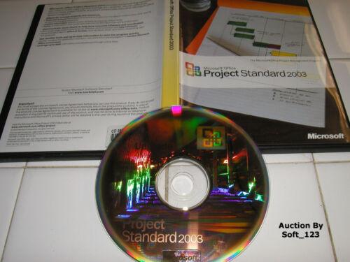 Microsoft Office Project 2003 Standard Full English Version MS =BRAND NEW=