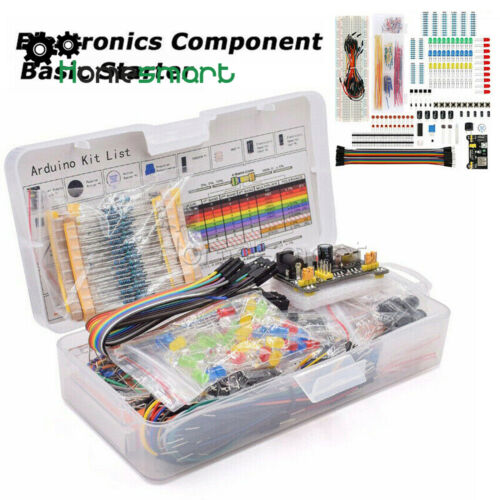 Electronics Component Kit W// 830 tie-points Breadboard Resistor AHS
