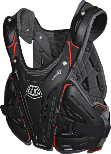 NEW TROY LEE DESIGNS BODYGUARD 5900 MOTOCROSS MX CHEST PROTECTOR BLACK ALL SIZES