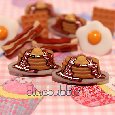 FUNKY BREAKFAST STYLE EARRINGS CUTE FAST FOOD KITSCH RETRO KAWAII SWEET JUNK FUN