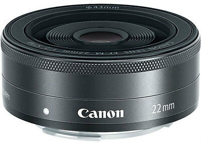 Brand New unboxed Canon EF-M 22mm f/2 f2.0 STM Lens for EOS M Camera