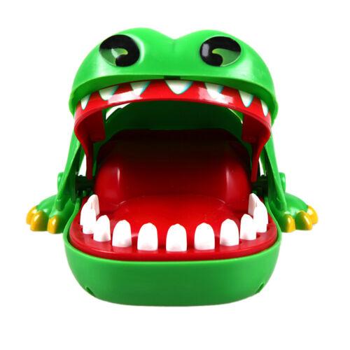 Gran cocodrilo boca dentista morder dedo juego divertido jugar juguete  KY