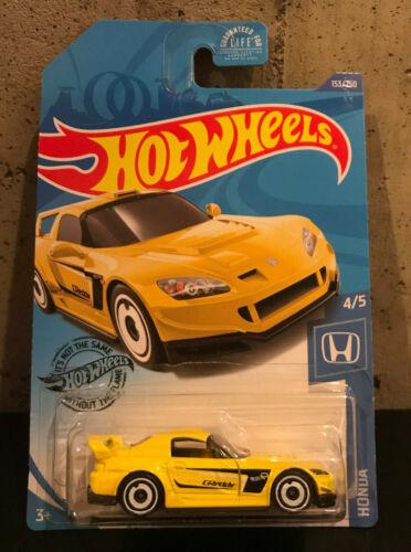 2020 Hot Wheels J Case Yellow GReddy Honda S2000 #153