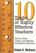 (8) Ten Traits of Highly Effective Teachers, 8 BRAND NEW BOOKS!