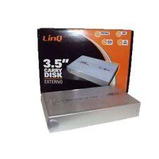 "CASE BOX ESTERNO SATA USB HD HARD DISK 3.5"" ATA 3.5 PATA PC NOTEBOOK SERIAL ATA"