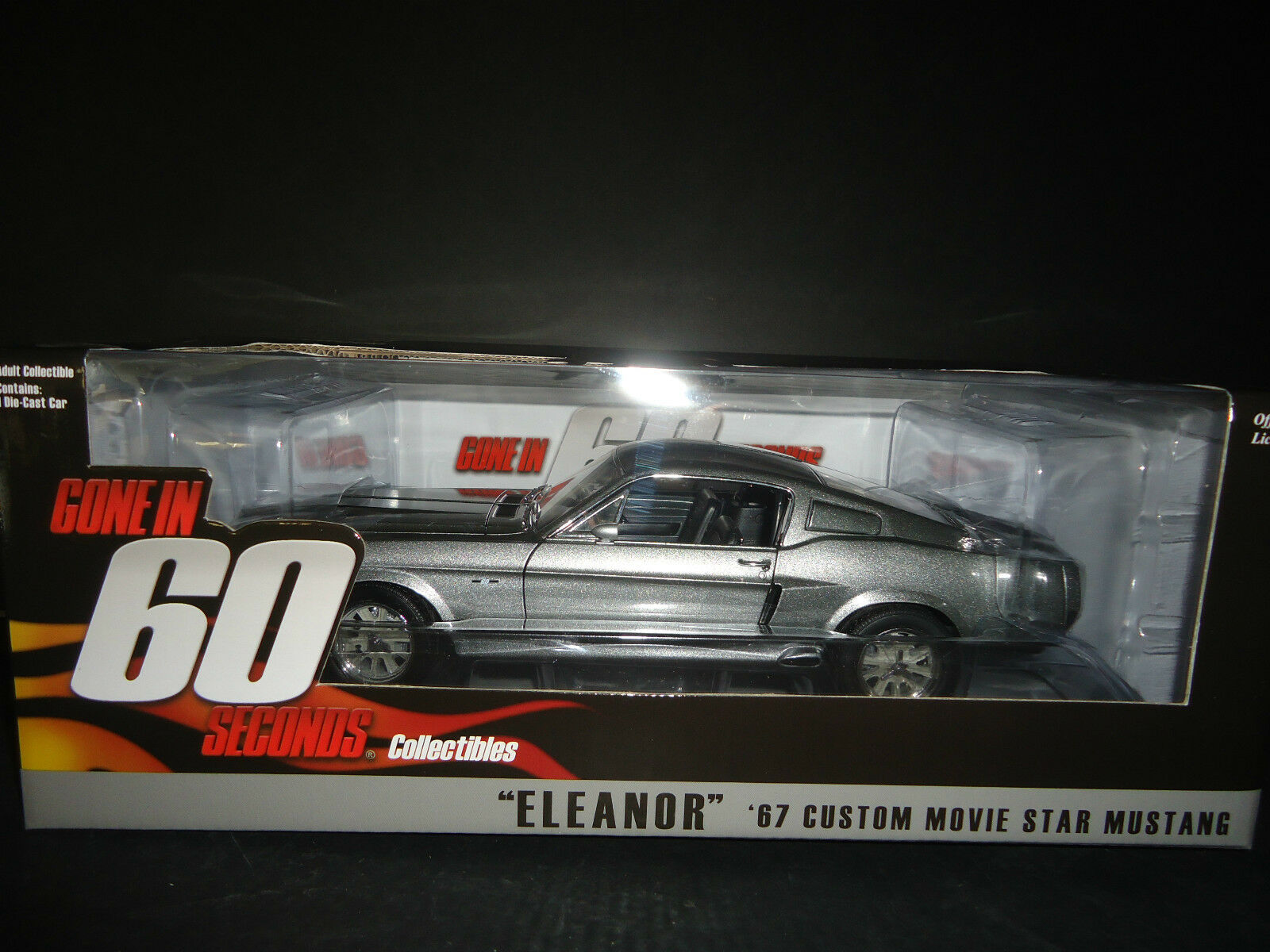 Greenlight Ford Mustang Eleanor 1967 Gone in 60 Seconds 1 18 Limited Edition