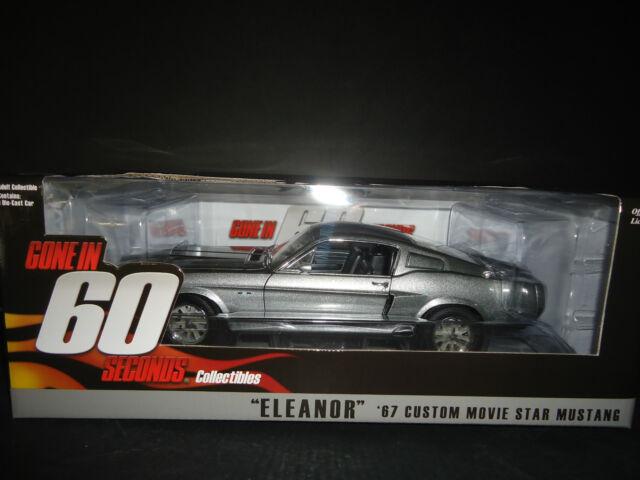 Greenlight Ford Mustang Eleanor 1967 Gone in 60 Seconds 1/18 Edizione Limitata