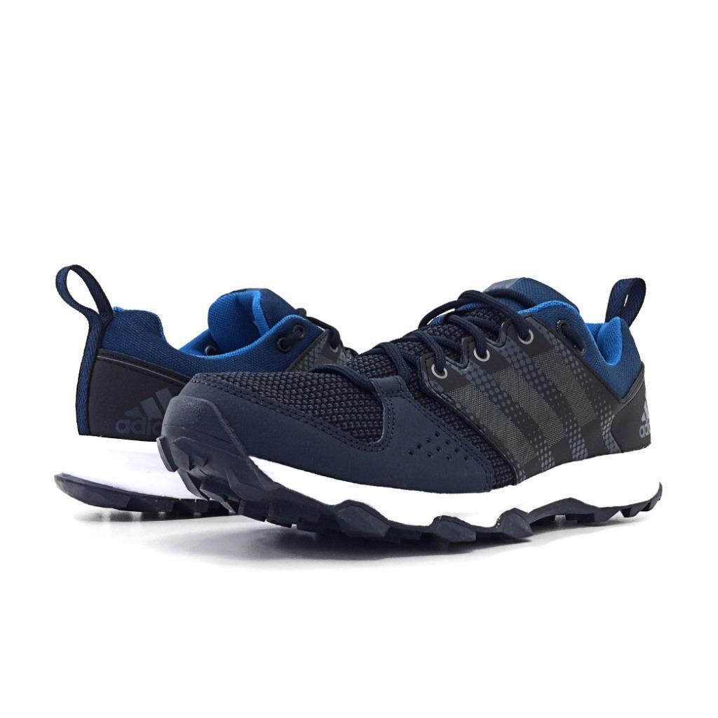 NEW Adidas Galaxy Trail M Running shoes Night Navy Iron Metallic AQ5922 Size 8.5