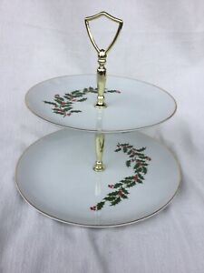 All-The-Trimmings-Christmas-Holly-2-Tier-Serving-Tray-Japan