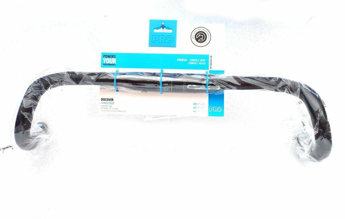 Shimano PRO Discover Medium Handlebar 12° Flare Compact, Di2, 31.8mm x 40cm