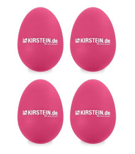 4x Egg Shaker Schüttelei Rasselei Percussion Chicken Maracas Rhythmus Ei pink