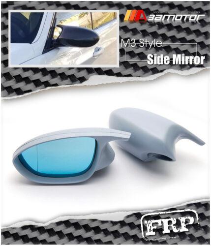 Unpainted M3 Style Side Door Mirrors Polarized Glass for BMW E90 E92 E93 Pre-LCI