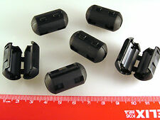 Ferrite Filter WRC-50B Clip On 5.2mm Internal Diameter 6 Pieces OM996