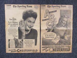 Details about ANNE BAXTER(1951)/JEAN DARLING(1945)