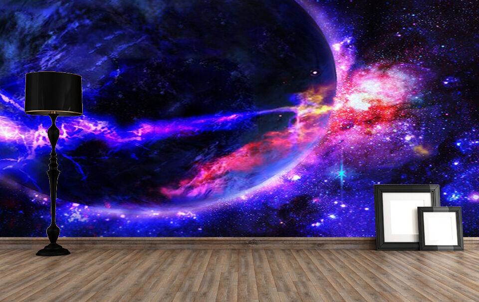 3D Planet Space 1835 Paper Wall Print Decal Wall Wall Murals AJ WALLPAPER GB