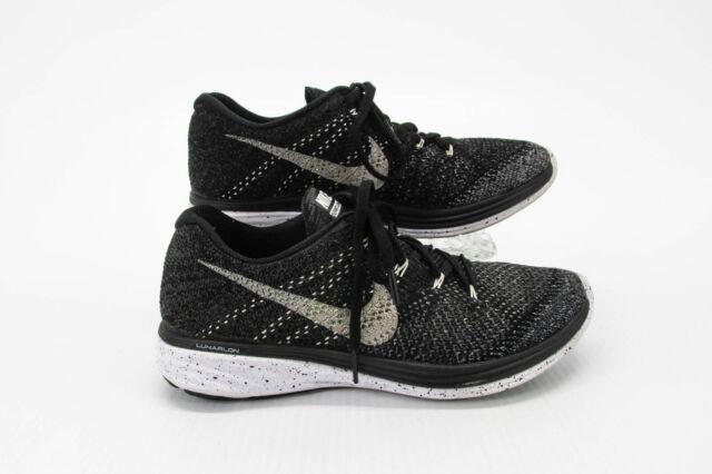 Size 9 Nike Flyknit Lunar 3 Oreo For Sale Online Ebay