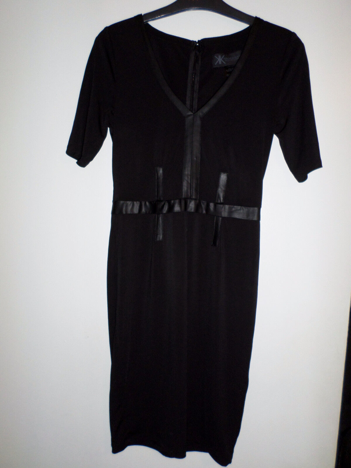 Kardashian Kollection Pu Mix Dress