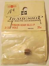 "Tradeship Brass Pinion Gear, 11 Tooth, 3/32"" Hole #603, MIP"