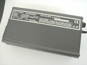 BATTERY-GOLF-MAINTAINER-CHARGER-36-VOILT-4-AMP-SCHAUER-WITH-RING-TERMINMAL