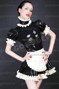 fetish latex maid rubber